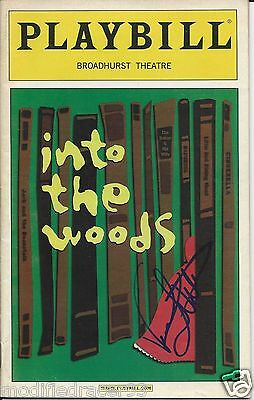 """Vanessa Williams in """"Into the Woods"""" Autographed Playbill"""