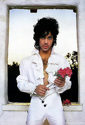 Prince Sexy With Rose 13x19 Borderless Glossy Photo Print
