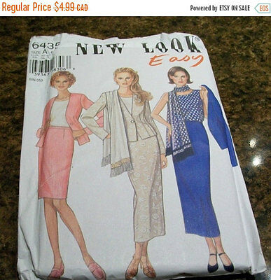 Sewing patterns New Look Size A 6-16 UNCUT women's skirt set #6435 Many more sel