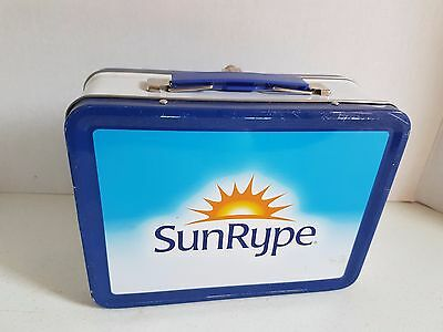 Vintage Sunrype Juice Lunch Box Lunch Kit Metal