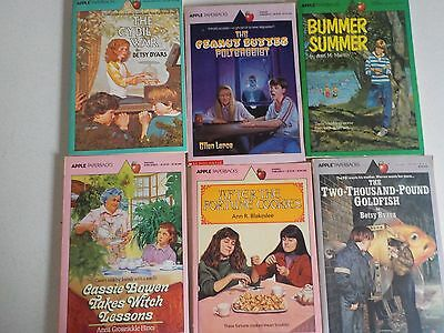 Vtg Lot Young Adult Books Apple Paperback Scholastic 1980s and 1990s #5