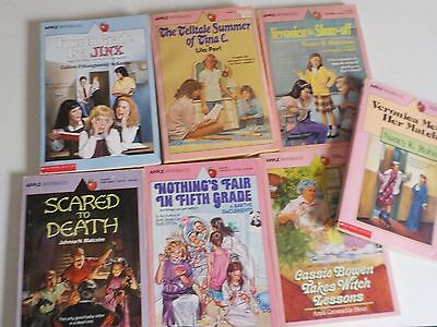 Vtg Lot Young Adult Books Apple Paperback Scholastic 1980s and 1990s #3