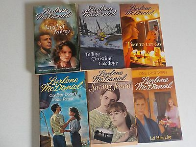 Vtg Lot Young Adult Books Lurlene McDaniel 1980s-2000s Lot #1