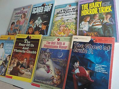Vtg Lot Young Adult Books Apple Paperback Scholastic 1980s and 1990s #7