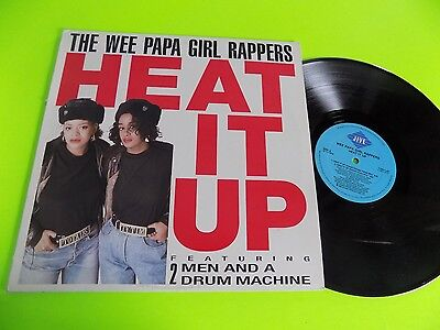 Vtg Record LP 1988 1980s Wee Papa Girl Rappers Heat it Up