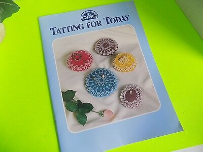 Tatting for Today Craft Booklet Pattern Instructions Reprint of 1985