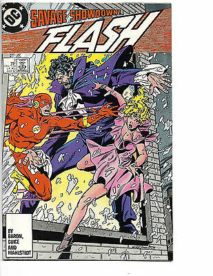 Flash # 2 (2nd Series) - Copper Age - Solid Mid-Grade - Barry Allen