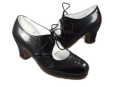 Flamenco Shoes Professionals brand new black leather different sizes