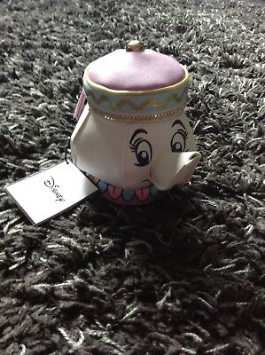Disney Mrs Potts Coin Purse Beauty & The Beast Teapot Primark Sold Out