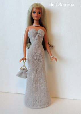 Ideal TUESDAY TAYLOR Clothes Dress + Purse + Jewelry handmade Fashion NO DOLL