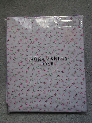 Laura Ashley Girls Bella Butterfly Pink Floral Single Fitted Sheet - NEW