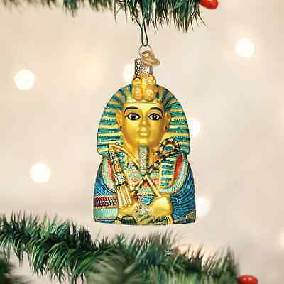 King Tut Glass Ornament Old World Christmas NEW IN BOX Egyptian Boy King