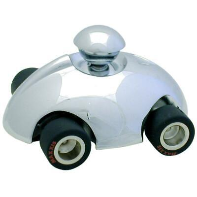 Personalised Chrome Windup Car Paperweight