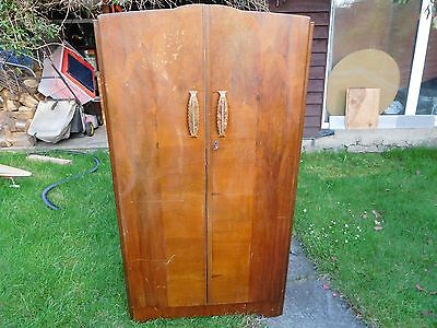 Antiques old style 2 doors wardrobe 63x36x17 inch