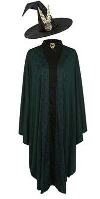 Harry Potter Professor McGonagall Adult Fancy Dress Costume ONE SIZE Book Day