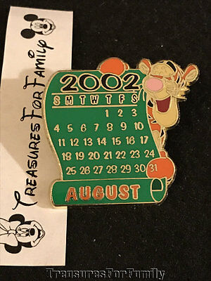 Disney Pin Winnie the Pooh Tigger August Calendar 12 Months of Magic FREE SHIP