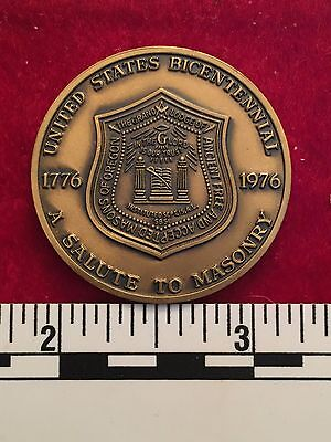 State of Oregon. A Salute to Masonry - Bicentennial Coin 1976