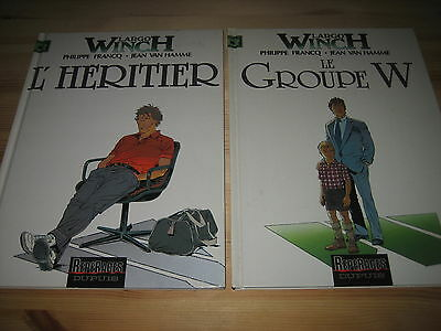 Lot 2 Bd Largo Winch - Tomes 1 & 2 - L'heritier & Le Groupe W - Dupuis - Be