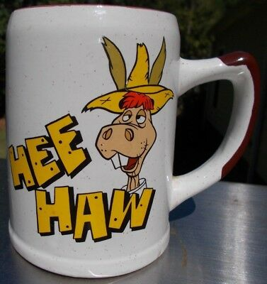 Hee Haw Coffee Mug, No cracks/chips/holes, etc. Excellent Condition