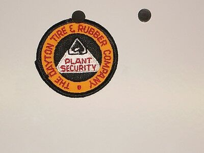 Dayton Tire & Rubber Company Plant Security Patch NOS