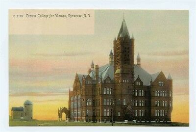 Crouse College for Women UDB Postcard Syracuse New York
