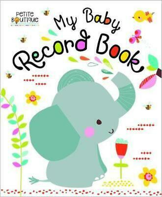 Petite Boutique: My Baby Record Book Board Books Book Free Shipping!
