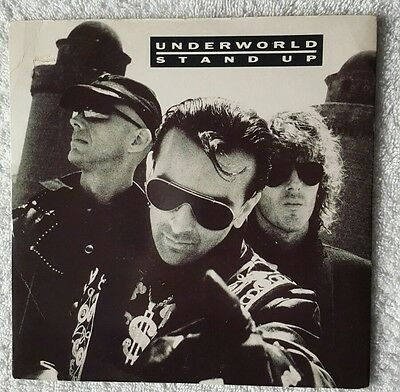 Underworld -  Stand Up.  promotional copy only. Rare and Collectable. Ex/Ex