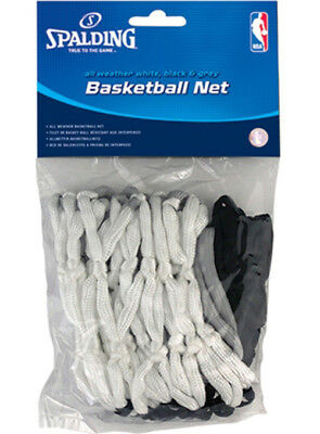 Spalding All Weather Basketball Net - White/Gray/Black