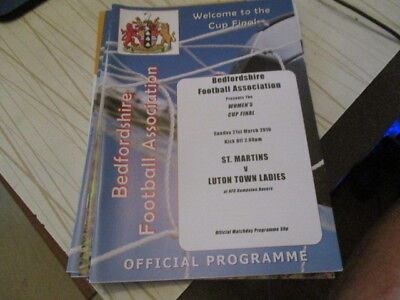 St  Martins  V  Luton  Town  Ladies  2010  Womans Cup Final  L@@k