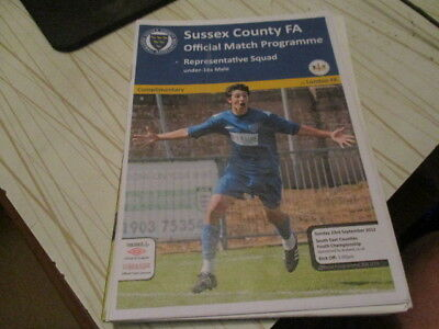 Sussex  County   V London  Fa  Under  16  Match