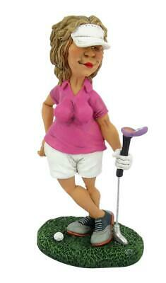 Golf Golferin Golfspieler Make Up,16 cm Sport Funny Figur Kollektion,Neu