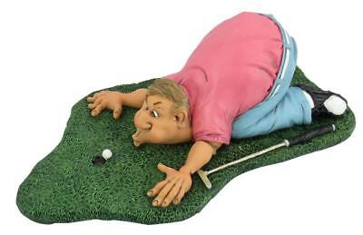 Golf Golfer Golfspieler Blow for Par,22 cm Sport Funny Figur Kollektion,Neu