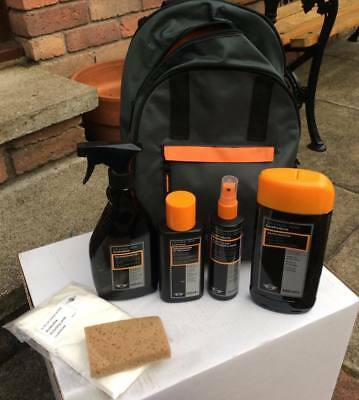 Genuine MINI Cooper backpack Cleaning Kit rare Nos JCW Works Cooper S BMW