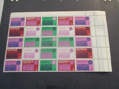No--7--1970    Christmas   Sheet  Of  25  Stamps  --Mint--Mnh  --A1
