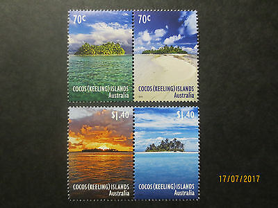 No--2-- 2015 -COCOS   ISLAND  ISLANDS  OF  COCOS  --4  STAMPS  --MINT--MNH -A1