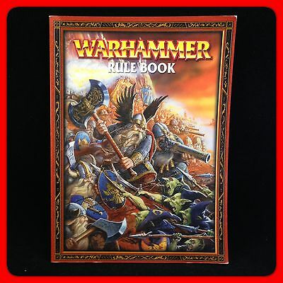 WARHAMMER Rule book. The Game Of Fantasy Battles. By Alessio Cavatore