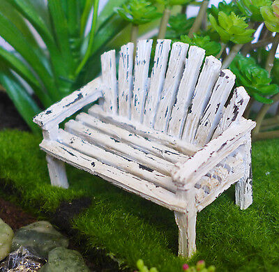 Miniature Fairy Garden Dollhouse (fairy love seat)