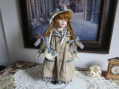 Porcelain Doll '' Rebecca Collection ''