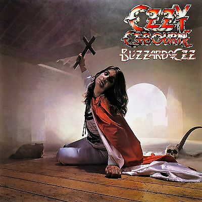 Ozzy Osbourne Blizzard Of Ozz 12x12 Borderless Album Art Print Replica