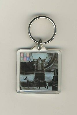 Blue Oyster Cult Extraterrestrial Live Acrylic Photo Keychain Key Ring