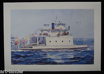 8 Washington State Ferry, The Islander Fine Art Note Cards by Marshall Johnson