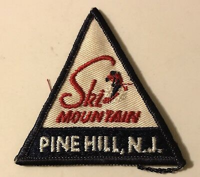 SKI MOUNTAIN Skiing Patch LOST SKI AREA 1964-86 Pine Hill NEW JERSEY Travel
