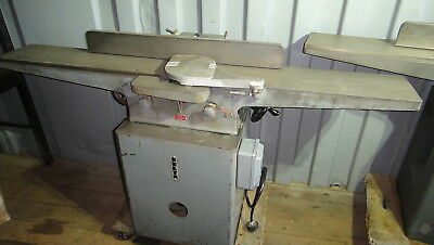 Delta 8'' Jointer 220 Volt Profesional Long Bed Precision Heavy Duty Excellent
