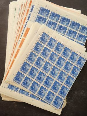 EDW1949SELL : INDONESIA 1964 Scott #626-37. 280 Complete sets. VF MNH. Cat $868.