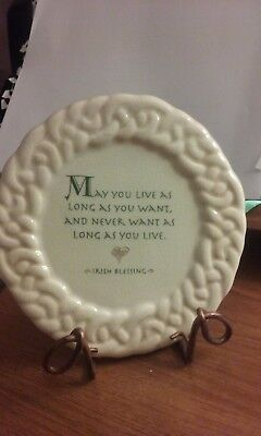 Irish Blessing Plate from Russ Berrie and Company, Inc.