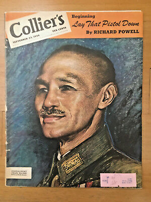 Sept 1944 Collier's Magazine China Generalissimo Chiang Kai Shek 蒋介石