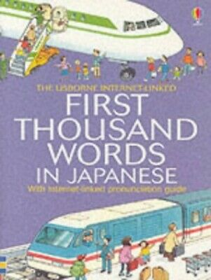 First 1000 Words: Japanese (First Thousand Words ... by Amery, Heather Paperback