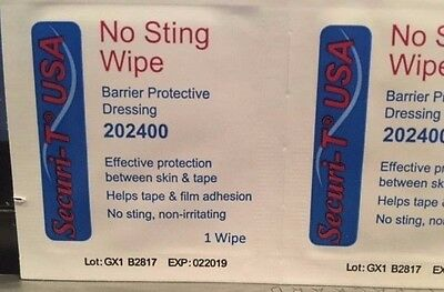 No Sting Wipe Barrier Dressing 202400 By Securiy - T Usa Effective Protection