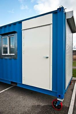 SHIPPING CONTAINER DOOR KIT (easy fast Install) No Painting Required