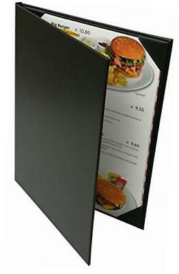 "5 pcs of menu cover 8.5"" x 11"" inches, double view,sold by case"